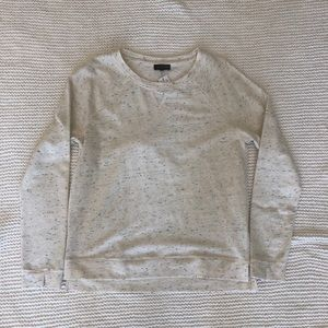 NWT The Limited Casual Top Cream with Black Flecks